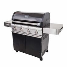 Product Image - Deluxe Black 4-Burner Gas Grill