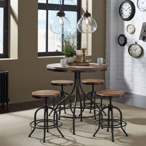 24 Inch Adjustable Counter Stool