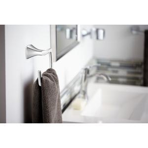 Voss chrome towel ring