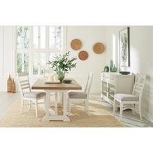 View Product - Osborne - Rectangular Dining Table - Timeless Oak/winter White Finish