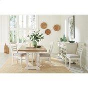 Osborne - Rectangular Dining Table - Timeless Oak/winter White Finish