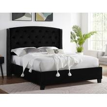 Eva King Headboard/tootboard -black