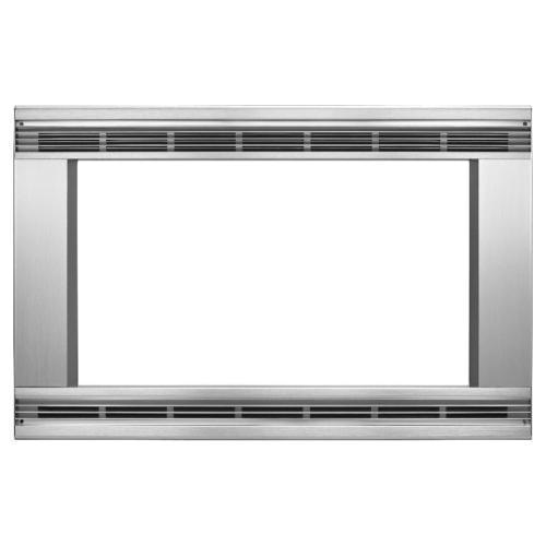 "Whirlpool - 30"" Trim Kit for Countertop Microwaves Model UMTK30S"