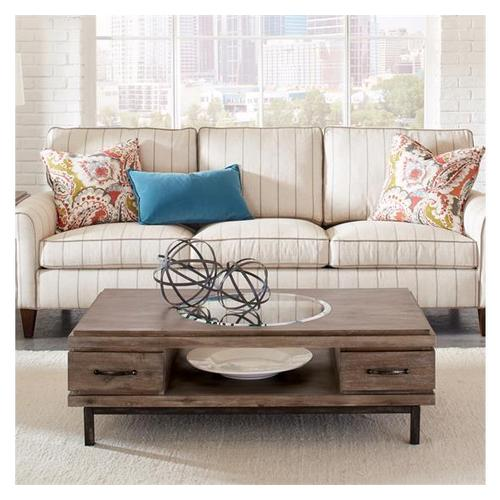 Riverside - Axis Rectangular Coffee Table Brindle finish