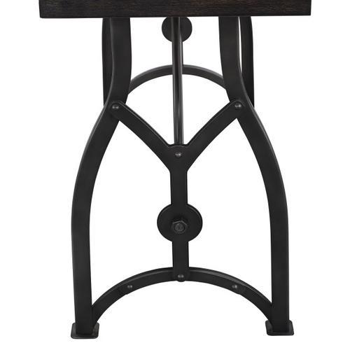 Tiburon Wood & Metal Sofa Table