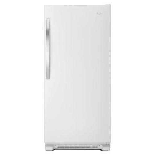 Whirlpool - Whirlpool® 31-inch Wide SideKicks® All-Refrigerator with LED Lighting - 18 cu. ft. - White Ice