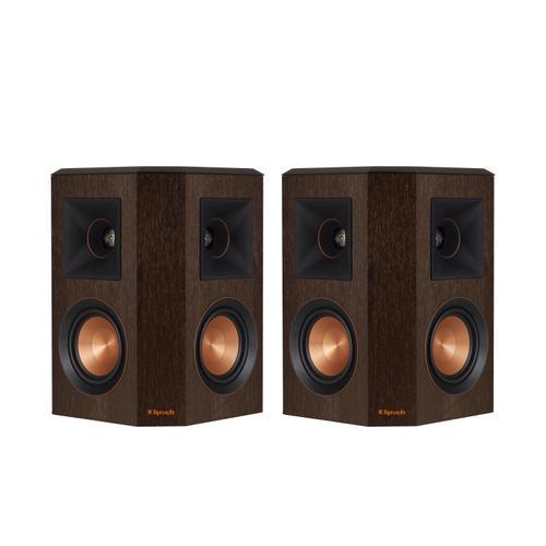 Klipsch - RP-402S Surround Sound Speaker - Walnut