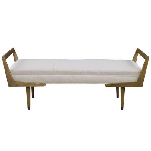 Waylon Bench, Ivory