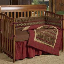 Baby Cascade Lodge 4-pc Crib Bedding Set