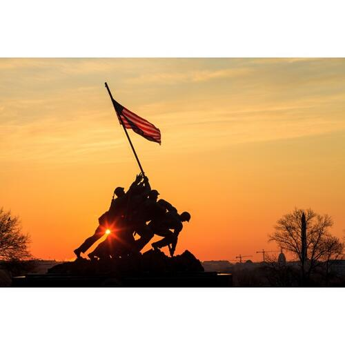 Product Image - 55064  Raising the Flag
