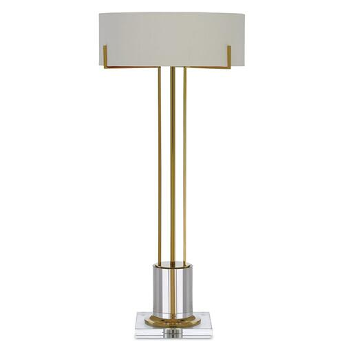 Currey & Company - Winsland Brass Table Lamp