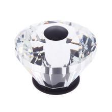 Oil Rubbed Bronze 60 mm Diamond Cut Knob