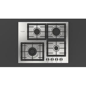 "Fulgor Milano24"" Gas Cooktop - Stainless Steel"