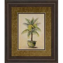 """Potted Palm I Framed Print Wall Art"
