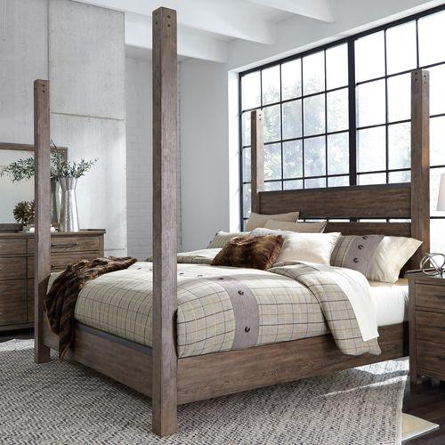 Liberty Furniture Industries - King Poster Bed