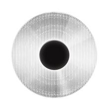 View Product - Meclisse LED Sconce [Color/Finish=Satin Black w/Clear Glass]