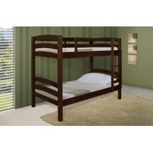 See Details - Twin/ Twin Big Post Panel Bunkbed
