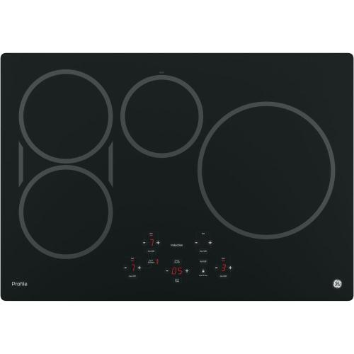 "GE Profile 30"" Induction Cooktop Black PHP9030DJBB"