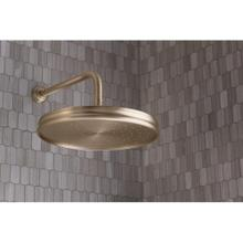 Air-Induction Large Traditional Rain Showerhead - Nickel Silver