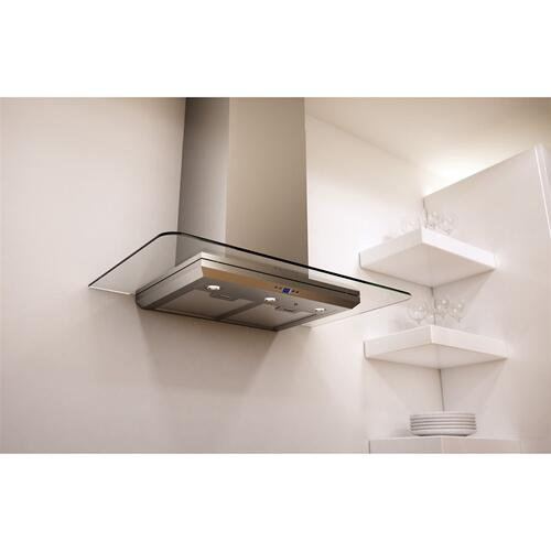 """30"""" Verona Wall Hood w/715 CFM Blower,5 Speed Levels,ACT,DCBL Spprssion"""