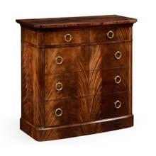 Early Victorian Style Mahogany Chest of Drawers
