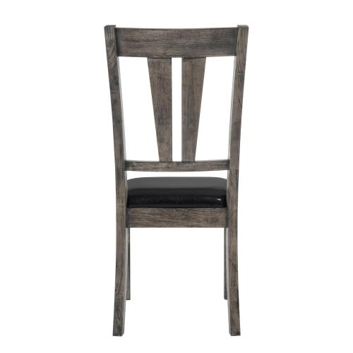 Product Image - Nathan Fan Back Chair w. PU Seat
