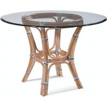 "Pier Point 48"" Round Dining Table with Bevel"