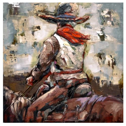 """Crestview Collections - """"LONE RIDER"""""""