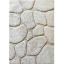 Rock Shag Area Rug by Rug Factory Plus - 5' x 7' / Ivory