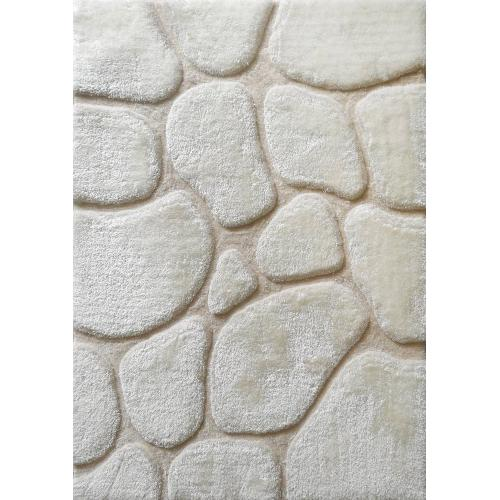 """Rock Shag Area Rug by Rug Factory Plus - 7'6"""" x 10'3"""" / Ivory"""