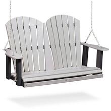 See Details - RK Outdoor Swing, Light Grey & Black
