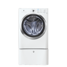 See Details - Front Load Washer with IQ-Touch Controls featuring Perfect Steam - 4.2 Cu. Ft.