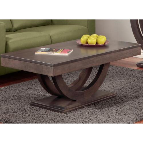 - Contempo Pedestal Coffee Table
