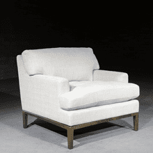 View Product - Lewis Occasional Chair in Serene Pearl