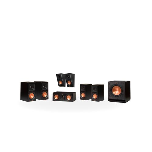 Klipsch - RP-600M 5.1.2 Dolby Atmos® Home Theater System - Walnut