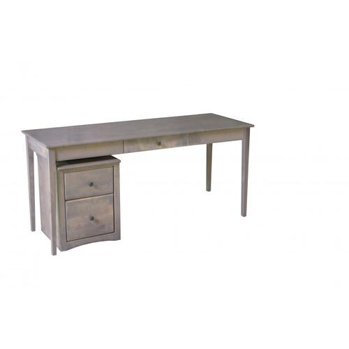Rolling 2 drawer file cabinet