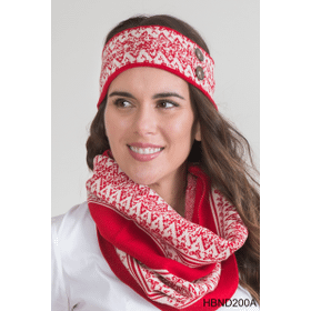 Swiss Alps Headband Holiday (6 pc. ppk.)