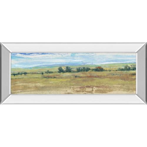 """Distant Treeline Panel I"" By Tim Otoole Mirror Framed Print Wall Art"