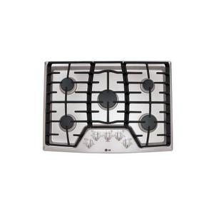 "LG Appliances30"" Gas Cooktop with SuperBoil™"