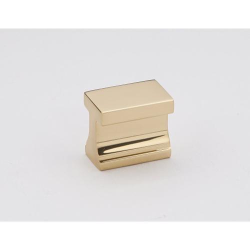 """LINEAR 3/4"""" TAB PULL A965 - Satin Brass"""