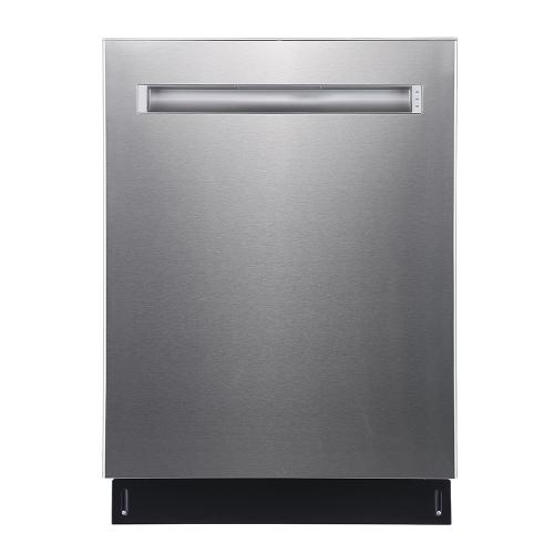 "GE Profile 24"" Built-In Top Control Dishwasher with Stainless Steel Tall Tub Stainless Steel - PBP665SSPFS"