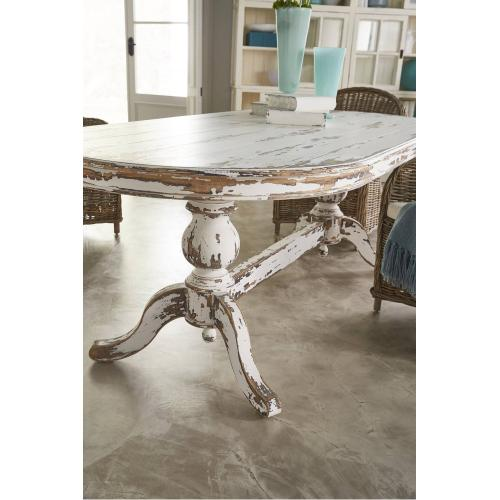 Farmhouse Oval Dining Table 84''