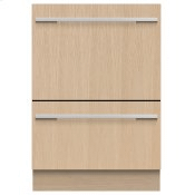 Integrated Double DishDrawer? Dishwasher, Tall, Sanitize