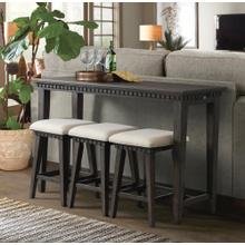 See Details - Morrison Occasional Bar Table TMO100BSS