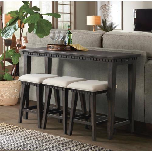 Elements - Morrison Occasional Bar Table TMO100BSS