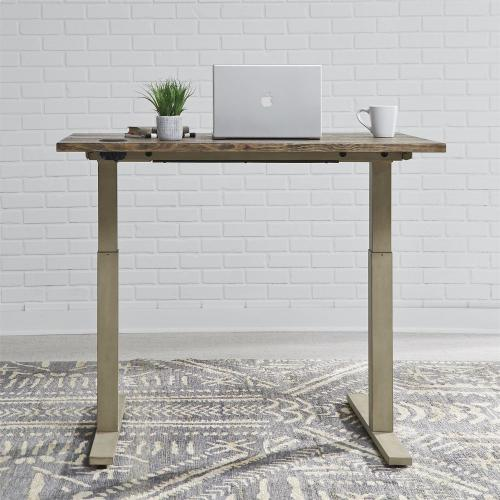 48 Inch Electrical Desk -Vintage Cream