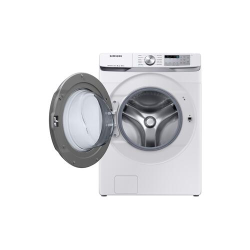 Samsung - 5.0 cu. ft. Smart Front Load Washer with Super Speed in White
