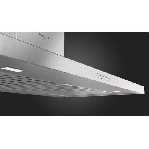 "Gallery - 36"" Chimney Wall Hood - Stainless Steel"