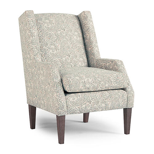 Best Home Furnishings - WHIMSEY Wing Back Chair