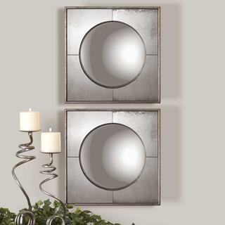 Savio Square Mirrors, S/2